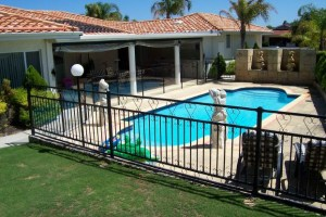 pool fence - Pool Fence Installation