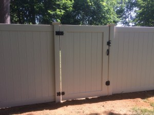 Long Island Vinyl fence