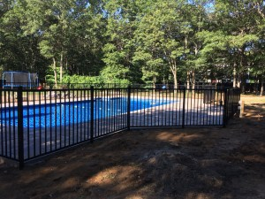 pool fence long island